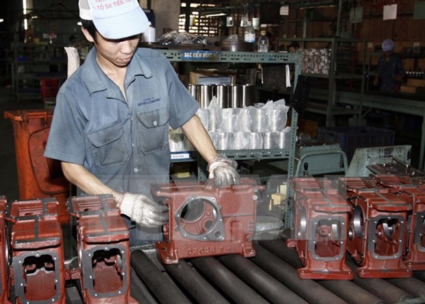 Industrial production index up 9 pct in August hinh anh 1