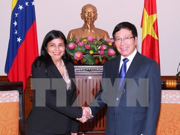 Vietnam, Venezuela forge stronger partnership hinh anh 1