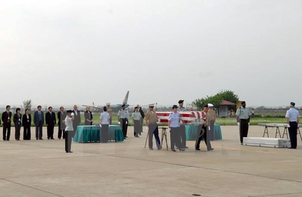 Remains of US missing-in-action servicemen repatriated hinh anh 1