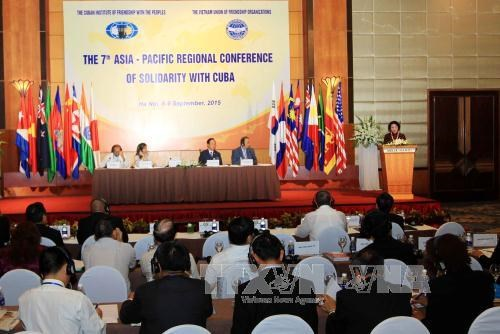 Conference of solidarity with Cuba issues Hanoi Declaration hinh anh 1