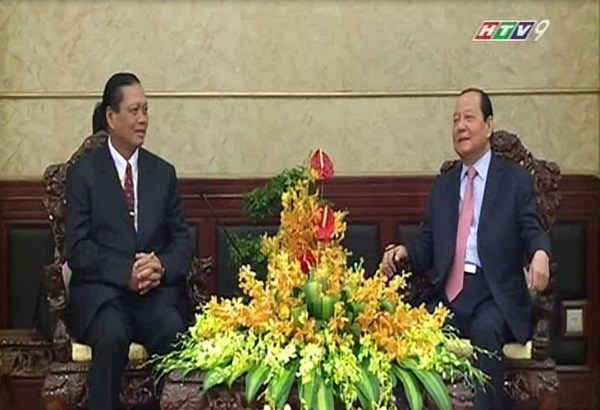 HCM City keen to further ties with Laos' Champasak province hinh anh 1