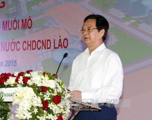 Vietnam starts work to tap potash salt mines in Laos hinh anh 1