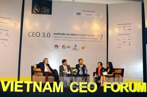 AEC integration tops CEO Forum discussion hinh anh 1