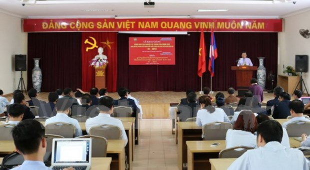 Government Inspectorate opens training course for Lao officials hinh anh 1