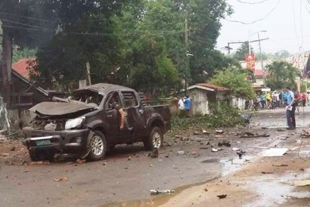 Four killed in Philippines blast hinh anh 1
