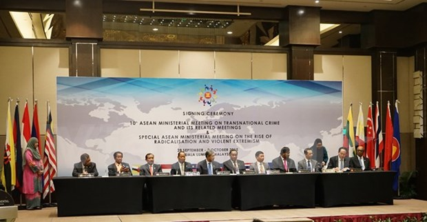 ASEAN committed to fighting trans-national crime hinh anh 1