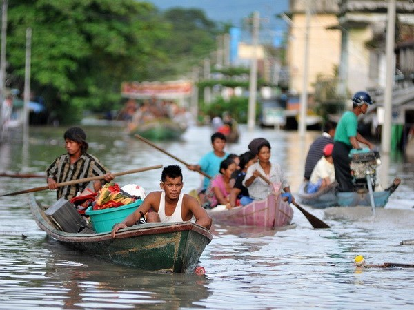 Myanmar proposes delaying elections due to flooding hinh anh 1
