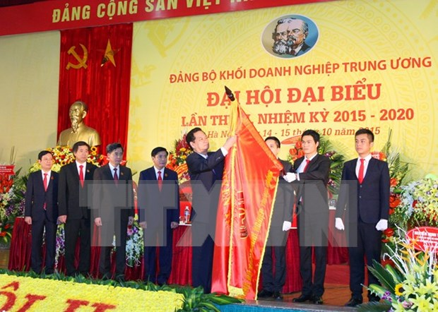 Central Enterprises Bloc holds Party Congress hinh anh 1