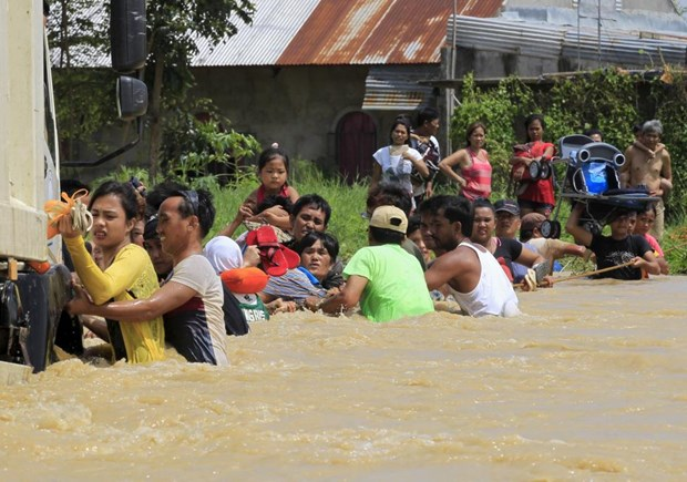 Philippines agriculture heavily affected by typhoon Koppu hinh anh 1