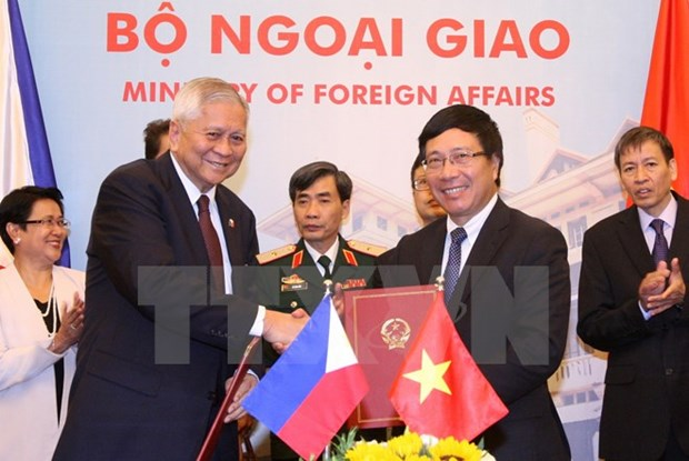 Vietnam-Philippines cooperation committee convenes meeting hinh anh 1