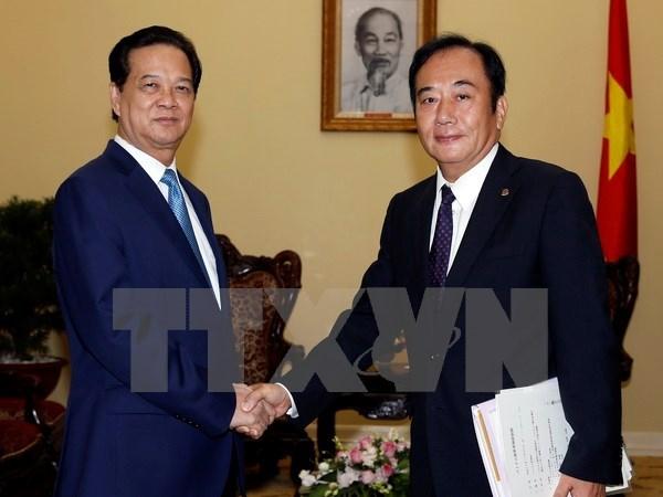 PM receives Japan's Saitama prefecture governor hinh anh 1
