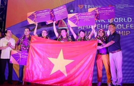 Golfers to compete in world championship for amateurs hinh anh 1