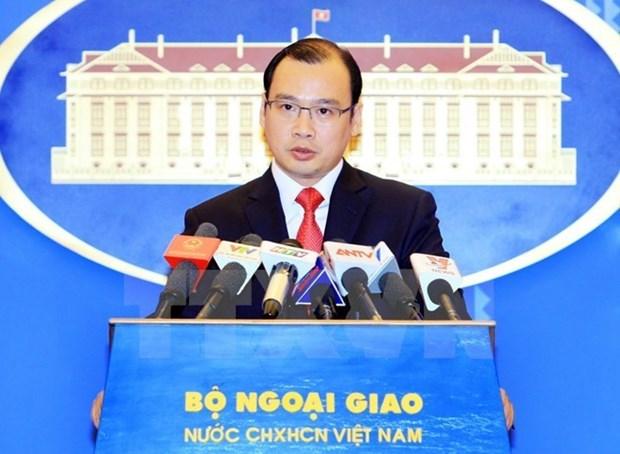 Vietnam demands China stop wrongful acts in Hoang Sa hinh anh 1
