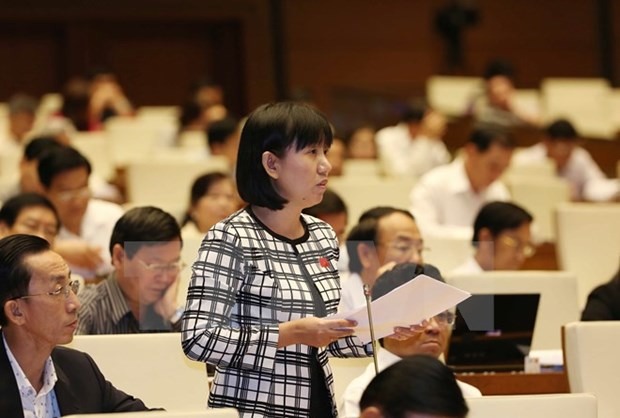 National Assembly deputies continue plenary session hinh anh 1