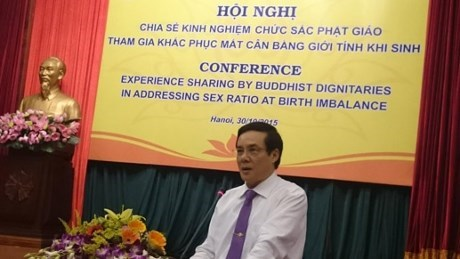 Buddhist dignitaries call for redressing birth gender imbalance hinh anh 1