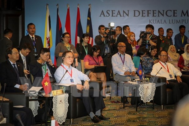 Vietnam shares security issues at ADMM Retreat hinh anh 1