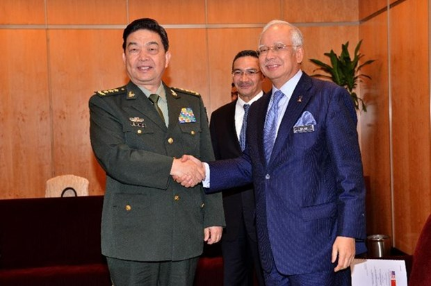Malaysia, China boost defence cooperation hinh anh 1
