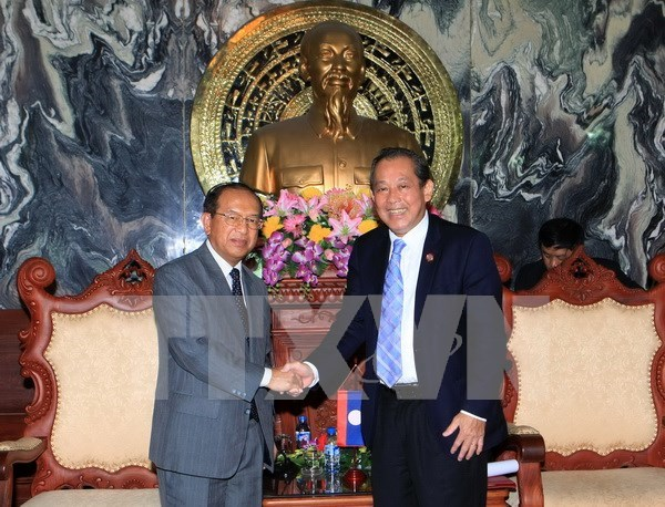 Vietnam, Laos share judicial reform experience hinh anh 1