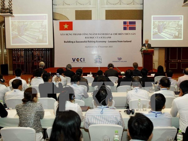 Iceland shares seafood processing experience with Vietnam hinh anh 1