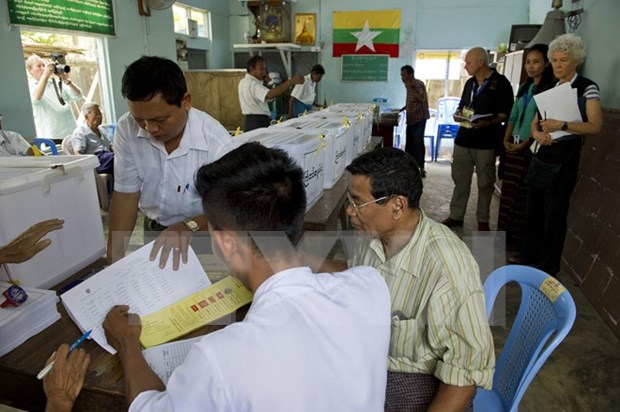 Myanmar: Yangon under high security alert ahead of election hinh anh 1
