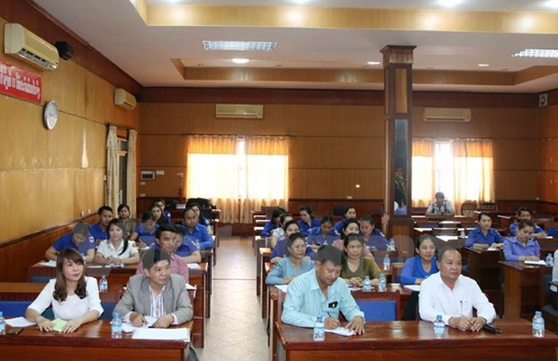 First Vietnamese course for Lao labour ministry staff opens hinh anh 1