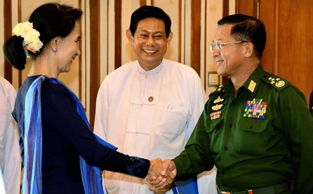 Myanmar Government commits to peaceful transition hinh anh 1
