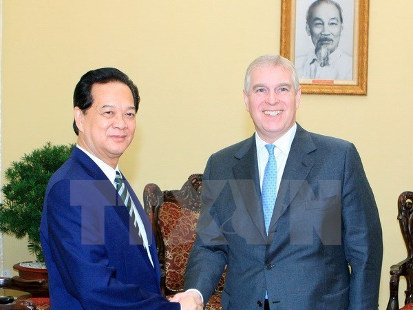 UK Prince Andrew to assist start-ups in Vietnam hinh anh 1
