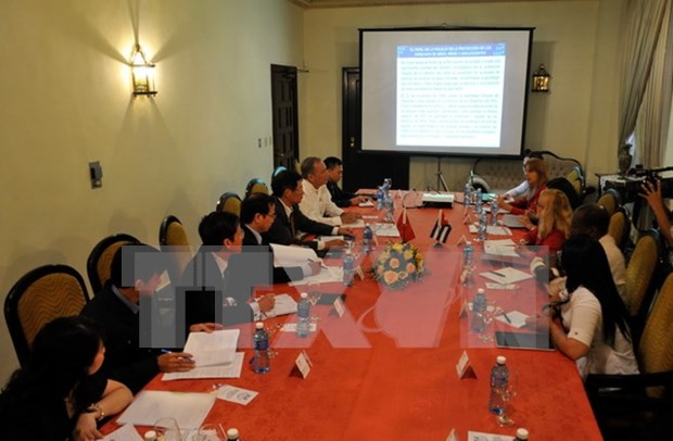 Vietnamese, Cuban procuracy bodies exchange experience hinh anh 1