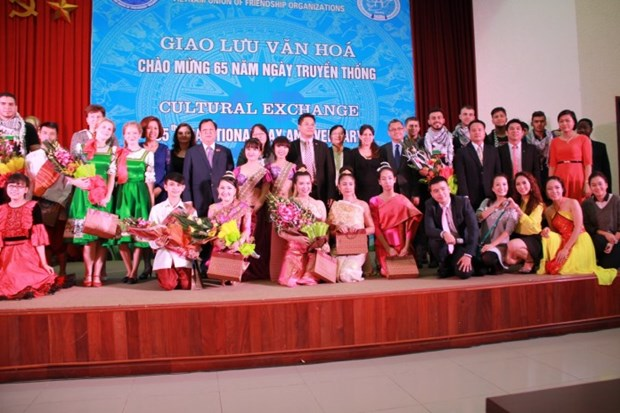 VUFO celebrates 65th anniversary of traditional day hinh anh 1