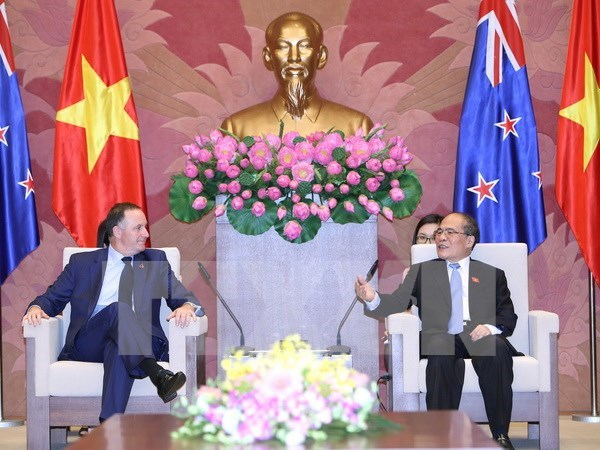NA Chairman welcomes New Zealand Prime Minister hinh anh 1