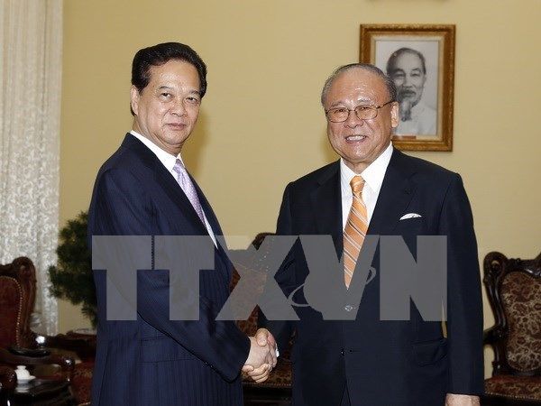 Prime Minister meets Japanese special advisor hinh anh 1