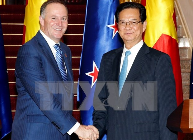 New Zealand PM concludes Vietnam visit hinh anh 1