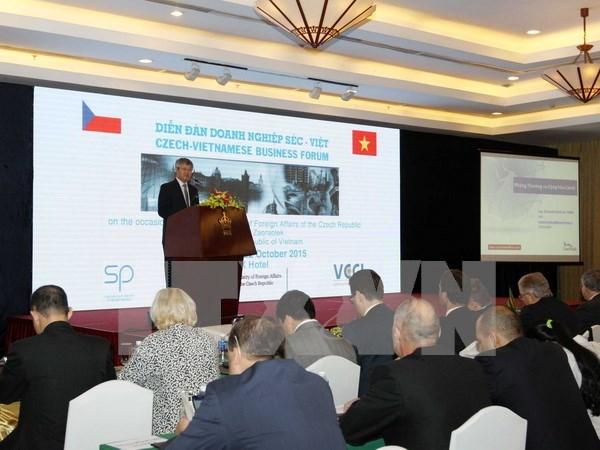 Vietnamese, Czech enterprises seek cooperation hinh anh 1