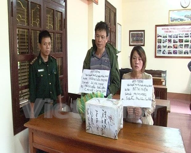 Lang Son police seizes 10 kg of methamphetamine hinh anh 1