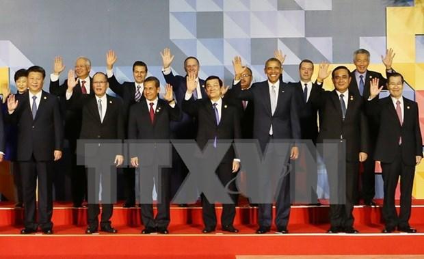President Truong Tan Sang meets APEC leaders hinh anh 1