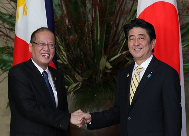 Japan, Philippines agree on defence tech, equipment transfer hinh anh 1
