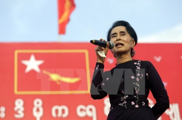 Myanmar: NLD wins 77.04 percent of parliamentary seats hinh anh 1