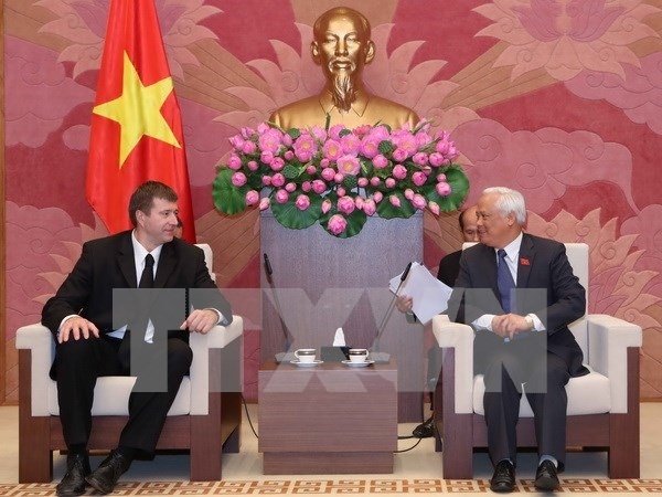 NA Vice Chairman welcomes Russian Justice Minister hinh anh 1