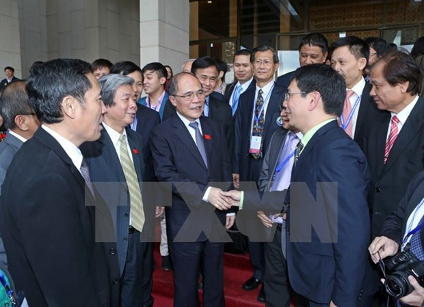 National Assembly Chairman receives ASEAN journalists hinh anh 1