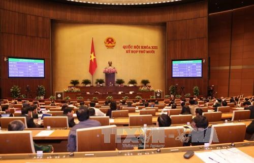 National Assembly adopts draft revised Penal Code hinh anh 1