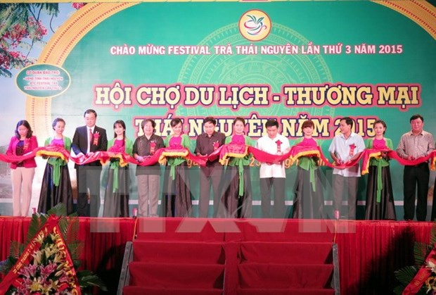 Festival promotes Thai Nguyen tea products hinh anh 1