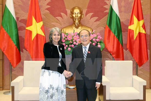 National Assembly Chairman greets Bulgarian Vice President hinh anh 1