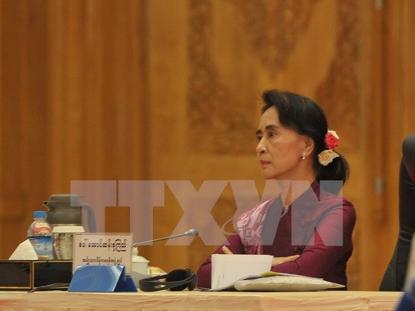 Political talks in Myanmar on power transition hinh anh 1