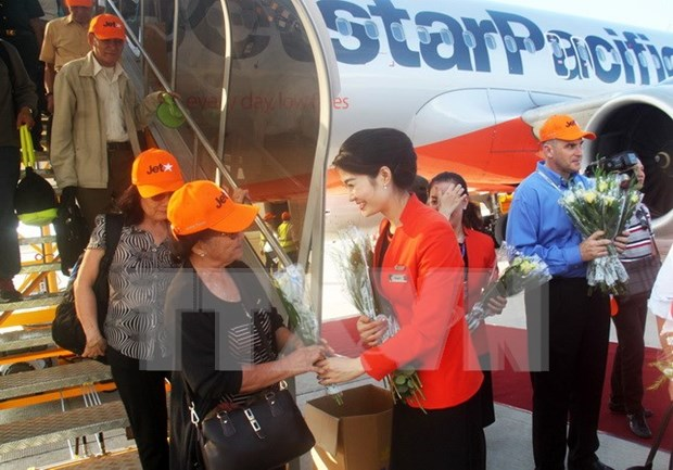 Jetstar Pacific offers cheap flights for online shopping day hinh anh 1
