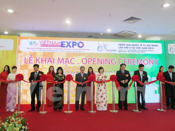Vietnam int'l trade fairs kick off in Ho Chi Minh City hinh anh 1