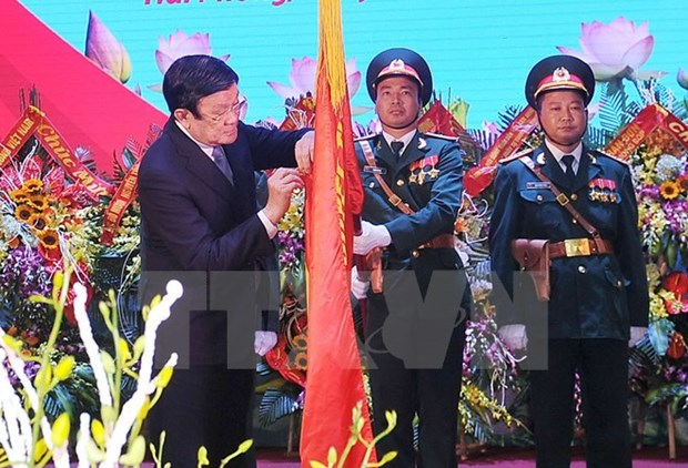 Military Zone 9 honoured with Military Exploit Order hinh anh 1