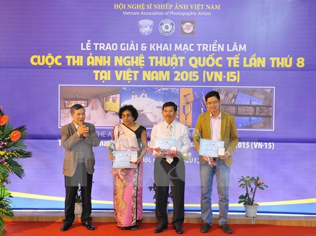Eighth int'l artistic photo contest winners unveiled hinh anh 1