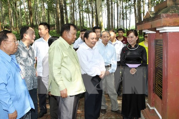 Activity highlights footprints of late Lao President in Vietnam hinh anh 1