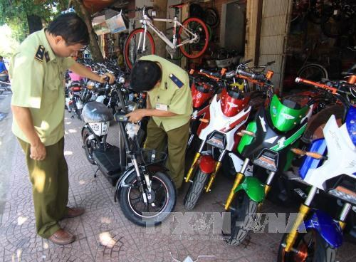 Compulsory registration for electric motorbikes hinh anh 1