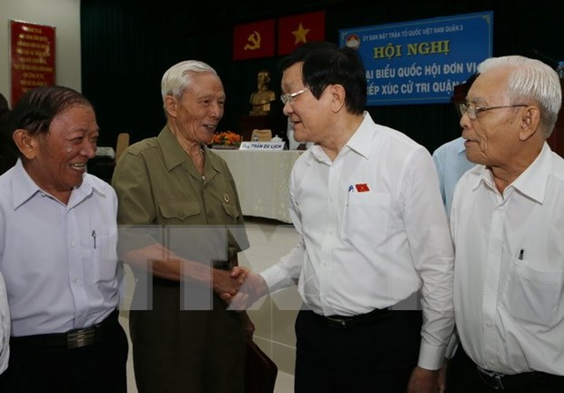 Utmost efforts to be made to realise voters' aspirations: President hinh anh 1